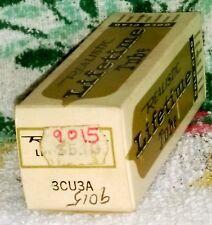 NOS Realistic Lifetime Gold Clad 3CU3A vacuum tube radio TV valve, TESTED