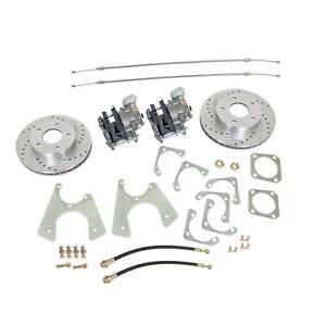 Summit Racing� Rear Drum-to-Disc Brake Conversion Kit SUM-BK1622-DS