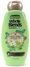 Garnier Whole Blends Hydrating 2in1 Green Apple & Green Tea Extracts 22oz Bottle