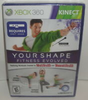 XBOX 360 KINECT YOUR SHAPE FITNESS EVOLVED VIDEO GAME - NEW! SEALED! 2010
