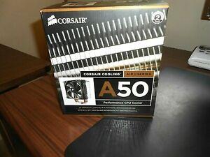 NIB Corsair A50 Performance CPU Cooler, # CAFA50, Air Series, 120mm, Intel / AMD