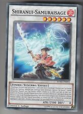 YU-GI-OH Shiranui Samuraisage Common BOSH-DE053