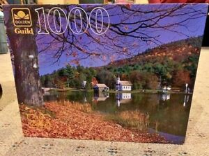 Golden Guild 1000 Piece Puzzle Brant Lake New Sealed