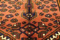 Authentic  Wool RNRN-152 3'4'' x 4'9'' Persian Zanjan Rug