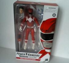 """NEW Power Rangers Lightning Collection Mighty Morphin Red Ranger 6"""" Figure"""