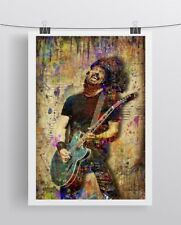 Foo Fighters Dave Grohl 8x10 Poster, Pop Art Dave Grohl Free Shipping Us