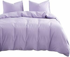 100% EGYPTIAN COTTON COMFORTER SOLID ALL SIZE AVAILABLE IN LILAC COLOR