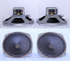 """2- Vintage 5"""" Montgomery Ward Airline Console Alnico Magnet Tweeters ~ Russell ?"""