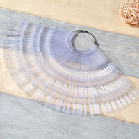 150 tips/pack Nail Polish Color Palette Table Art False Nail Gel Nail Art Tools