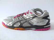 Asics Gel Rocket 7 Women's Volleyball Shoes Silver/ Black/ Pink Glw Size 9.5(US)
