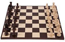 Pro Schach Set Nr. 6  - AMERIKA - Schachbrett & Schachfiguren STAUNTON 6 - Wenge