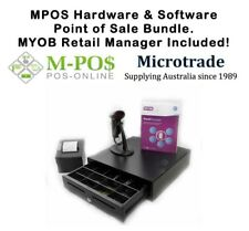POS Bundle & MYOB Retail Manager - Printer, Scanner & Cash Drawer Package.