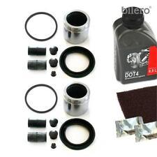 2x Kit de Reparación Pinza Freno + Pistón Delantero 60Mm para Sistema ATE Juntas