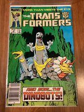 Transformers #8 Comic , Marvel Comics 1st App Dinobots