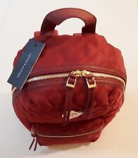 Tommy Hilfiger Quilted Holiday Backpack Travel School Bag