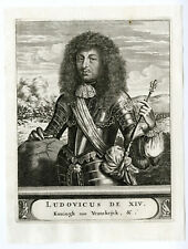Antique Print-LOUIS XIV-SUN KING-FRANCE-PORTRAIT-Van den Bosch-c.1683