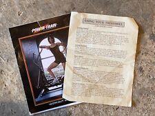 Power train Treadmill booklet