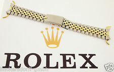 ROLEX USA -JUBILEE ARMBAND IN EDELSTAHL /14ct GOLD - 1960er - 20mm- GMT DATEJUST