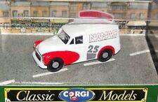 CORGI 96843 MORRIS 1000 VAN diecast model NAMAC number 25, roof sign 1965 - 1990