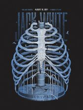 Jack White DKNG Kansas City, MO Poster 8/18/14 Midland Theatre White Stripes S/N