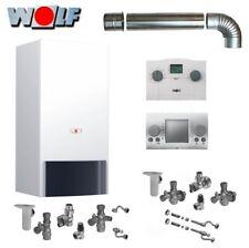 Wolf Gas Kombitherme 18 kW CGU-2K Gastherme Heiztherme Gasheizung Etagenheizung