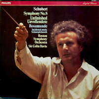 Franz Schubert , Sir Colin Davis , Boston Symphony Orchestra - Symphony No. 8 Un