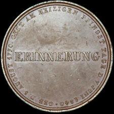 PREUSSEN: Bronze-Medaille 1840. KÖNIG FRIEDRICH WILHELM III - AUF SEINEN TOD.