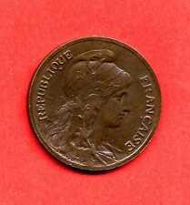 (BR.179) 5 CENTIMES DANIEL DUPUIS 1906 (TTB+)