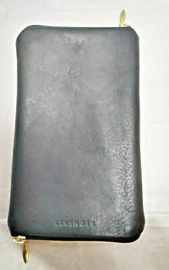 Levenger Leather Double Sided Eye Glass Case