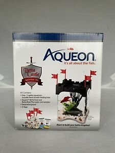 Aqueon Betta Aquarium Castle Kit Half Gallon
