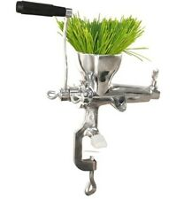 Weston Manual Stainless Steel Wheatgrass Juicer 36-3801-W Juicer NEW