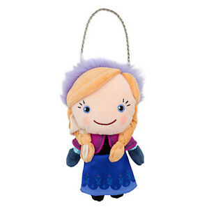NWT Disney store Frozen Anna Plush Purse Toy Doll