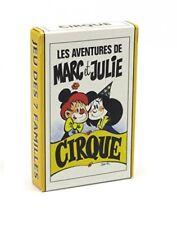 Jeu de cartes des 7 familles Les Aventures de Marc et Julie : Cirque 760013
