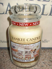 Yankee Candle BAKERY AIR Large Jar 22oz Candle NEW