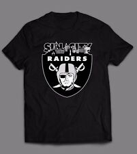 LAS VEGAS RAIDERS *SIN CITY CUSTOM OLDSKOOL ARTWORK* T-Shirt *FULL FRONT DTG*