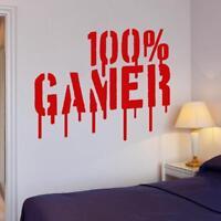 Gamer Vinyl Art Wall Sticker Decal For Boys Room Kids Play Room Decoration