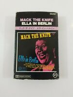 Ella Fitzgerald Mack the Knife Ella In Berlin Cassette Japanese