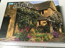 GUILD JIGSAW PUZZLE COTTAGE, COTSWOLD, ENGLAND 1000 PC, NEW SEALED