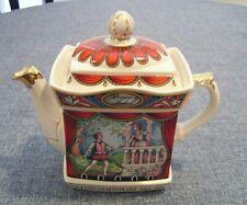 "Romeo & Juliet ""Shakespeare"" 2 Cup Teapot James Sadler England 6.5"""