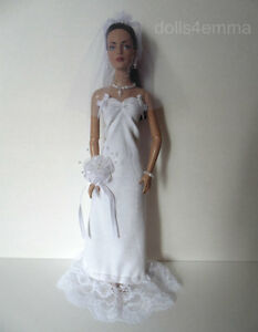 TYLER & SYDNEY CLOTHES Wedding Bride Fashion for Tonner dolls NO DOLL dolls4emma