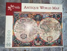 Antique World Map 1000 Piece Puzzle
