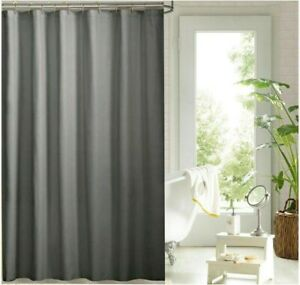 Charcoal grey shower curtain 180cm new free shipping