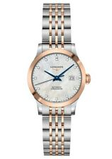 New Longines Record Diamond Dial Two-Tone Stainless Steel Ladies Watch L23215877
