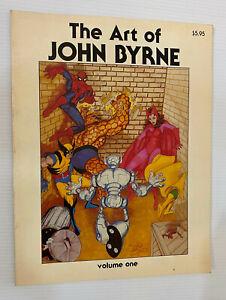 The ART OF JOHN BYRNE Volume 1 TPB (1980 SQP) -- Bronze Age OOP -- VF