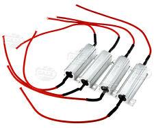 4x 12V LED Indicator Flash Rate Relay Load Resistor Bulbs Ballast 50W/6Ω