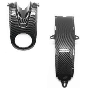 Carbon Fiber Tank Ignition Cover & Center Fairing For Ducati 696 795 796 1100
