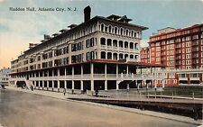 ATLANTIC CITY NEW JERSEY HADDON HALL HOTEL~ P C D #763 PUBLISHED POSTCARD 1910s