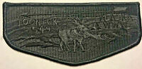 BSA OA TOONTUK LODGE 549 MIDNIGHT SUN COUNCIL BLACK GHOST CARIBOU PATCH FLAP
