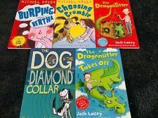 Funny Stories for children Set- 5 Books (dragonsitter.. home reading age 7+ NEW