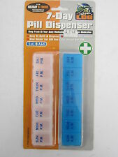 P.M.S. TRAVEL LOG 7-DAY PILL DISPENSER FOR HOLIDAY AND TRAVEL 078/379